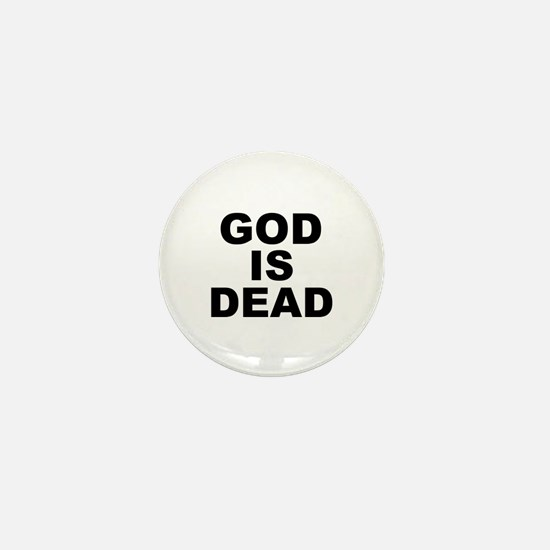 GOD IS DEAD Mini Button