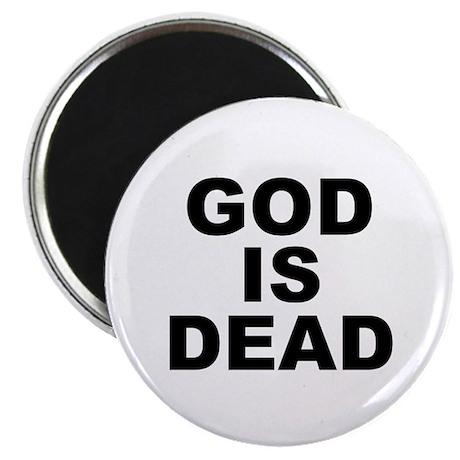 GOD IS DEAD Magnet