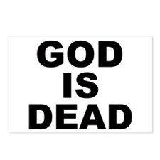 GOD IS DEAD Postcards (Package of 8)