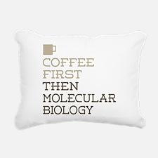 Molecular Biology Rectangular Canvas Pillow