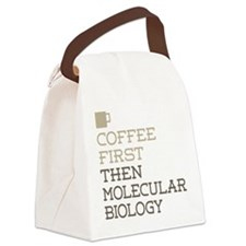 Molecular Biology Canvas Lunch Bag