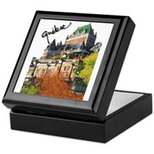 Frontenac Castle Quebec Signa Keepsake Box