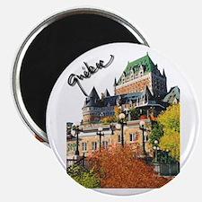 Frontenac Castle Quebec Signa Magnet