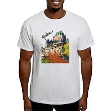 Frontenac Castle Quebec Signa T-Shirt