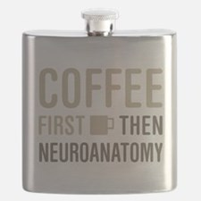 Coffee Then Neuroanatomy Flask