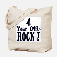 4 Year Olds Rock ! Tote Bag