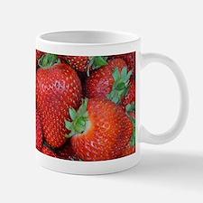 Fresh red strawberries Mugs