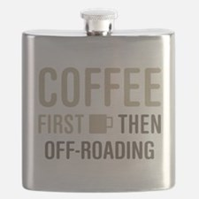 Coffee Then Off-Roading Flask