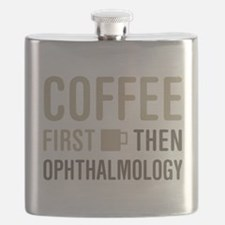 Coffee Then Ophthalmology Flask