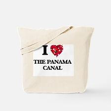 I love The Panama Canal Tote Bag