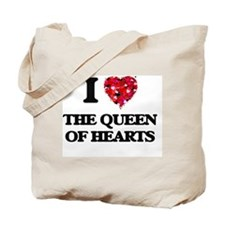 I love The Queen Of Hearts Tote Bag