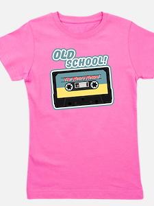 Old School Mix Tape Girl's Tee