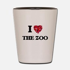 I love The Zoo Shot Glass