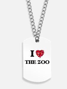 I love The Zoo Dog Tags