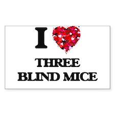 I love Three Blind Mice Decal