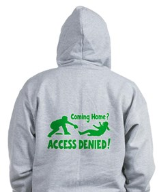 ACCESS DENIED (2-sided) Zip Hoodie