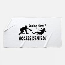 Access Denied Beach Towel
