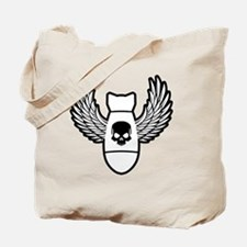 Winged bomb Tote Bag