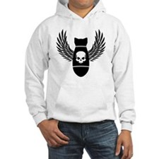 Winged bomb Jumper Hoody
