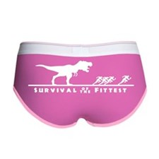Survival of the fittest Women's Boy Brief