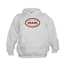 Miami Neon Orange Hoodie