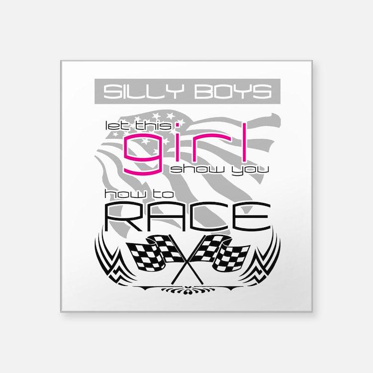 Silly Boys Sticker