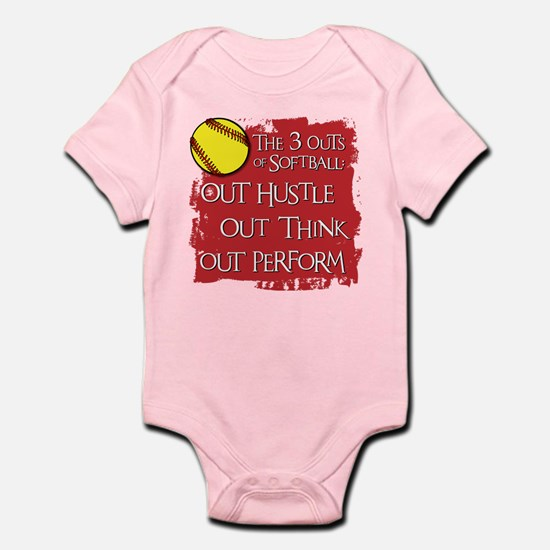THE THREE OUTS Infant Bodysuit
