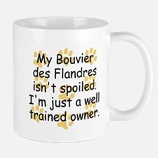 Well Trained Bouvier des Flandres Owner Mugs