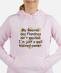 Well Trained Bouvier des Flandres Owner Women's Ho