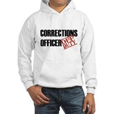 Off Duty Corrections Officer Hoodie
