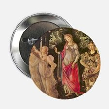 "Primavera by Botticelli 2.25"" Button (10 pack)"