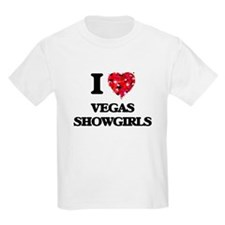 I love Vegas Showgirls T-Shirt