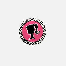Cute Zebra Mini Button (10 pack)