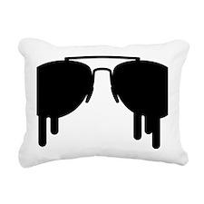Sunglasses Rectangular Canvas Pillow