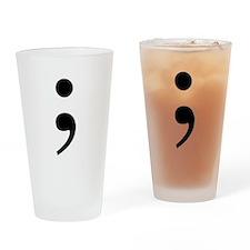 Semi Drinking Glass