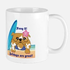 Layla Luau Beach Bullie Mugs