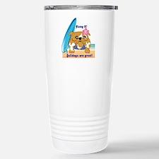 Layla Luau Beach Bullie Travel Mug