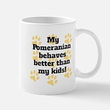 My Pit Bull Behaves Better Mugs
