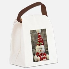 Cute Yule Canvas Lunch Bag