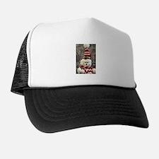 Unique Snowman Trucker Hat
