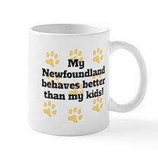 My Newfoundland Behaves Better Mugs