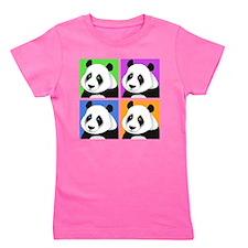 Cute Panda Girl's Tee