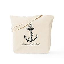 Newport, Rhode Island Anchor Tote Bag