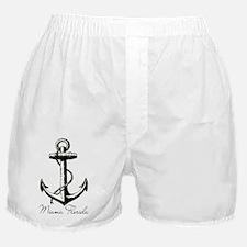 Miami, Florida Anchor! Boxer Shorts