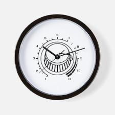 Volume - Turnt It Up Wall Clock