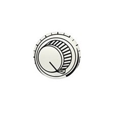 Volume - Turnt It Up Mini Button (10 pack)