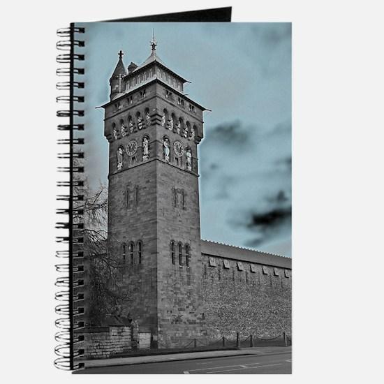 Cardiff Clock Tower - glow 6:9 - Journal