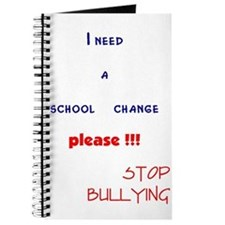 school change,stop bullying Journal