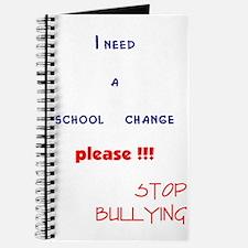 school change,stop bullying Journal