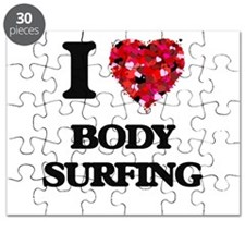 I love Body Surfing Puzzle